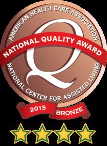 AHCA-bronze award