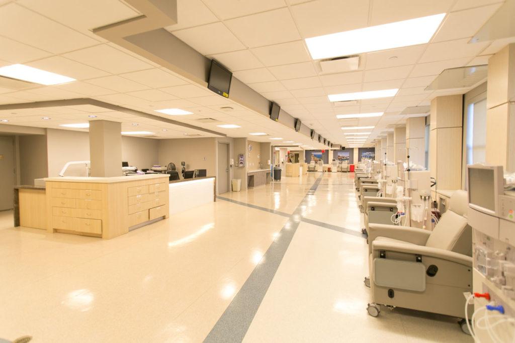 Dialysis Floor and Machines