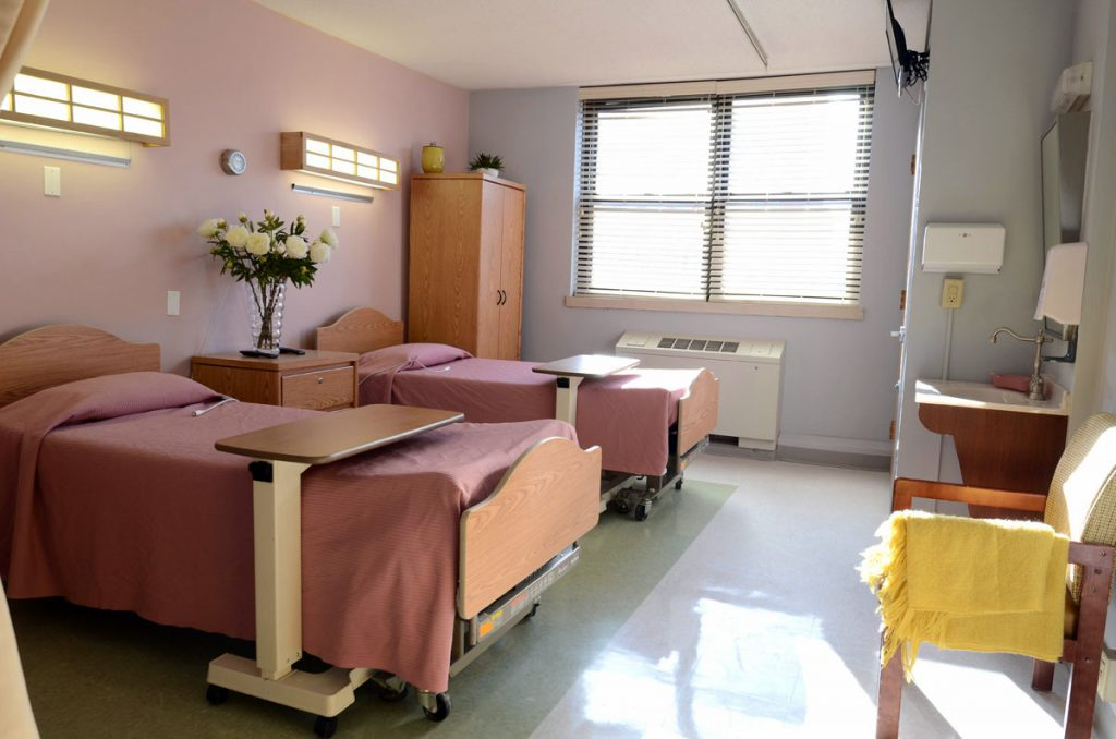Shared Room at Shore View Nursing and Rehabilitation, Brighton Beach, Brooklyn NY
