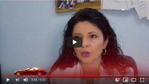 Video Screenshot of woman talking